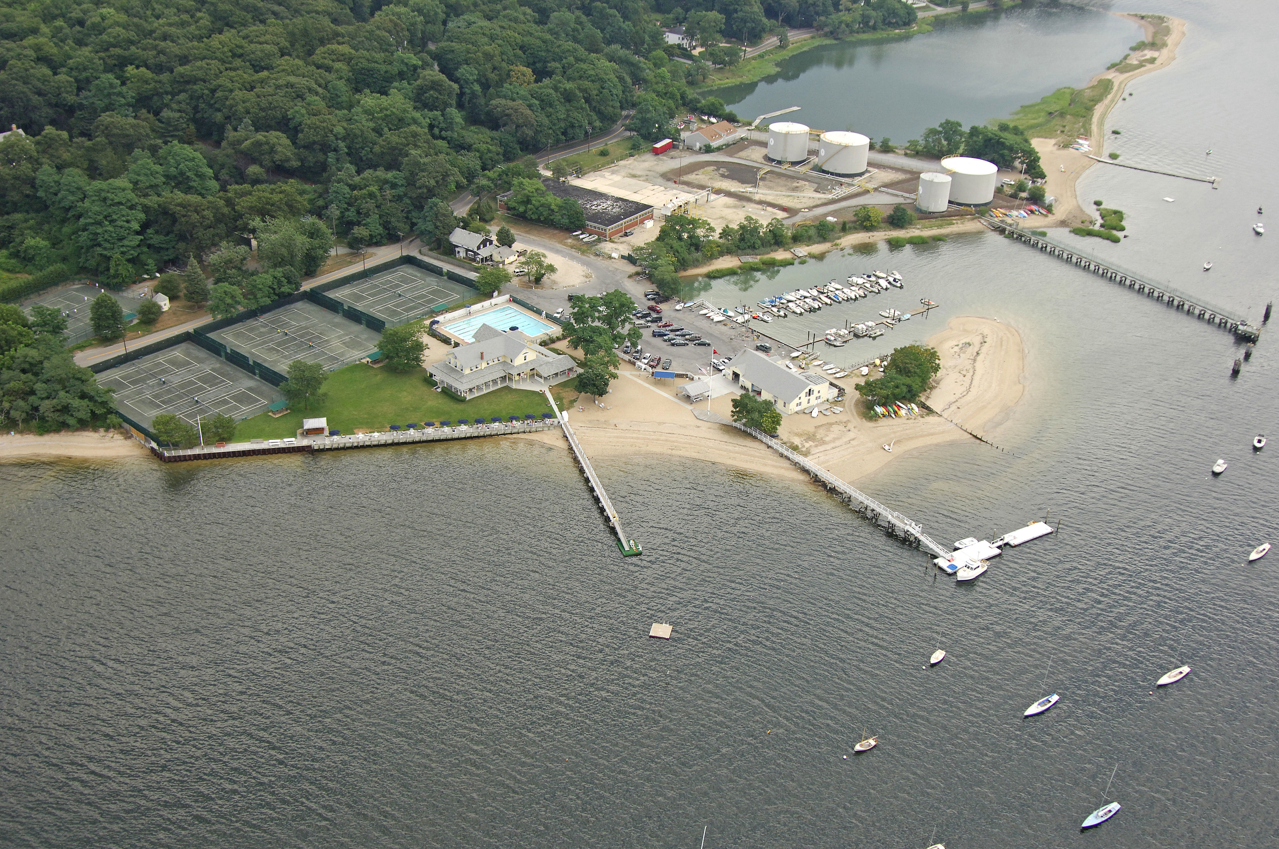 Cold Spring Harbor Beach Club In Cold Spring Hbr  Ny