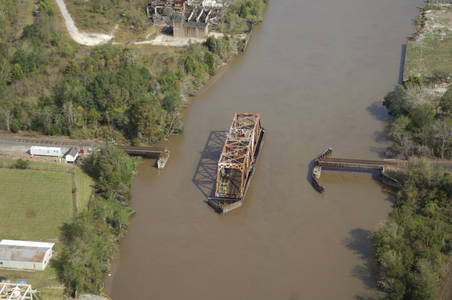 Southern Pacific Railroad Swing Bridge