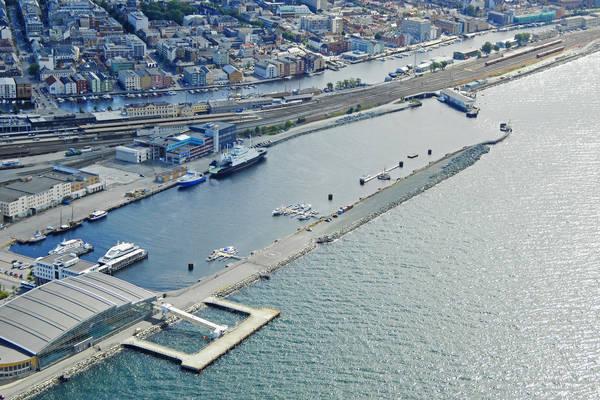 Trondheim Brattora Kaj Harbour