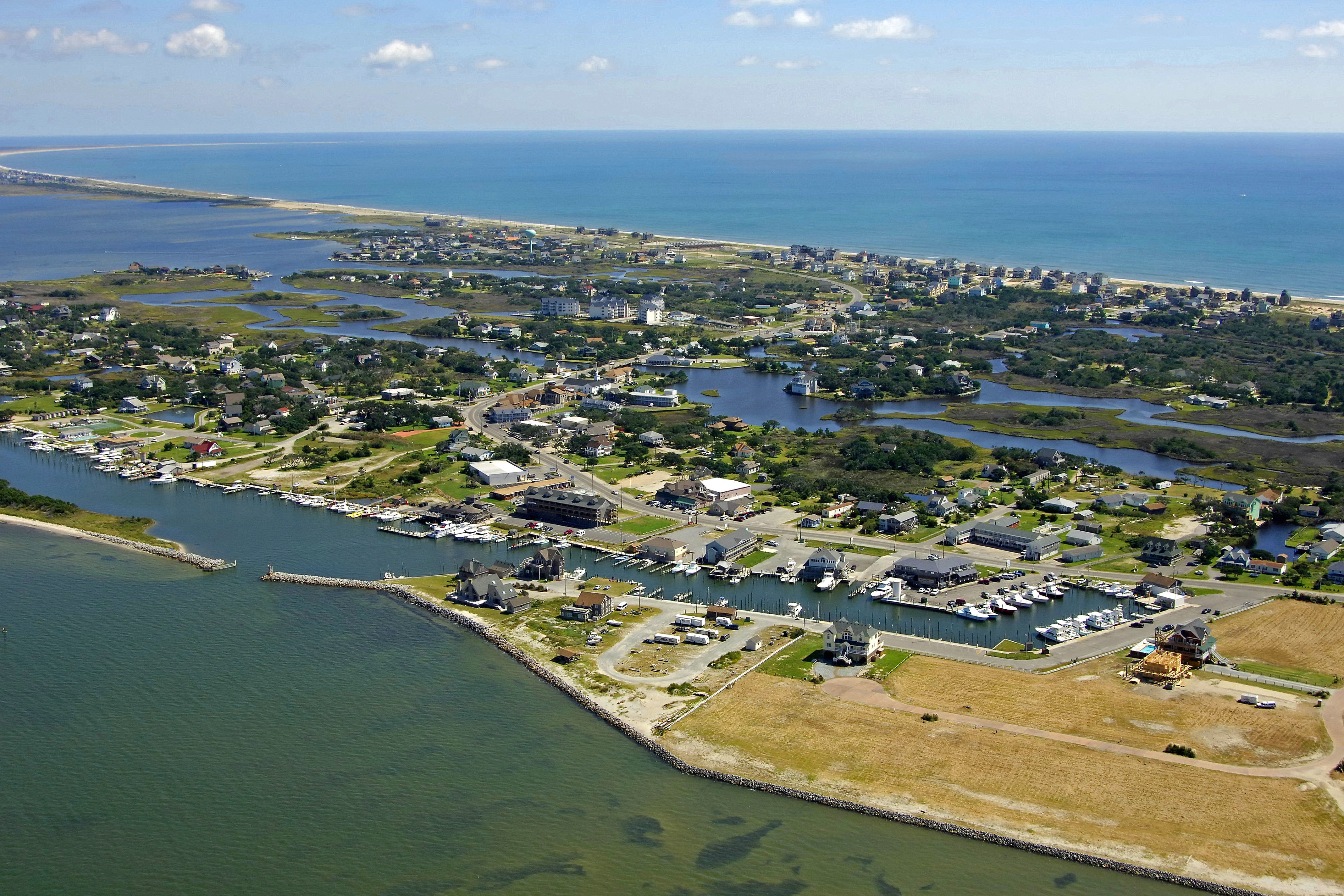 Hatteras Village Harbor In Hatteras Village Nc United States