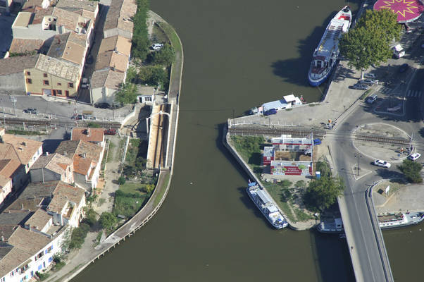 Aigues Mortes Swing Bridge
