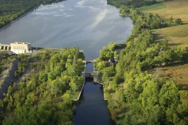 Trent River Lock 9