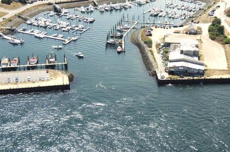 Sandwich Harbor of Refuge Inlet