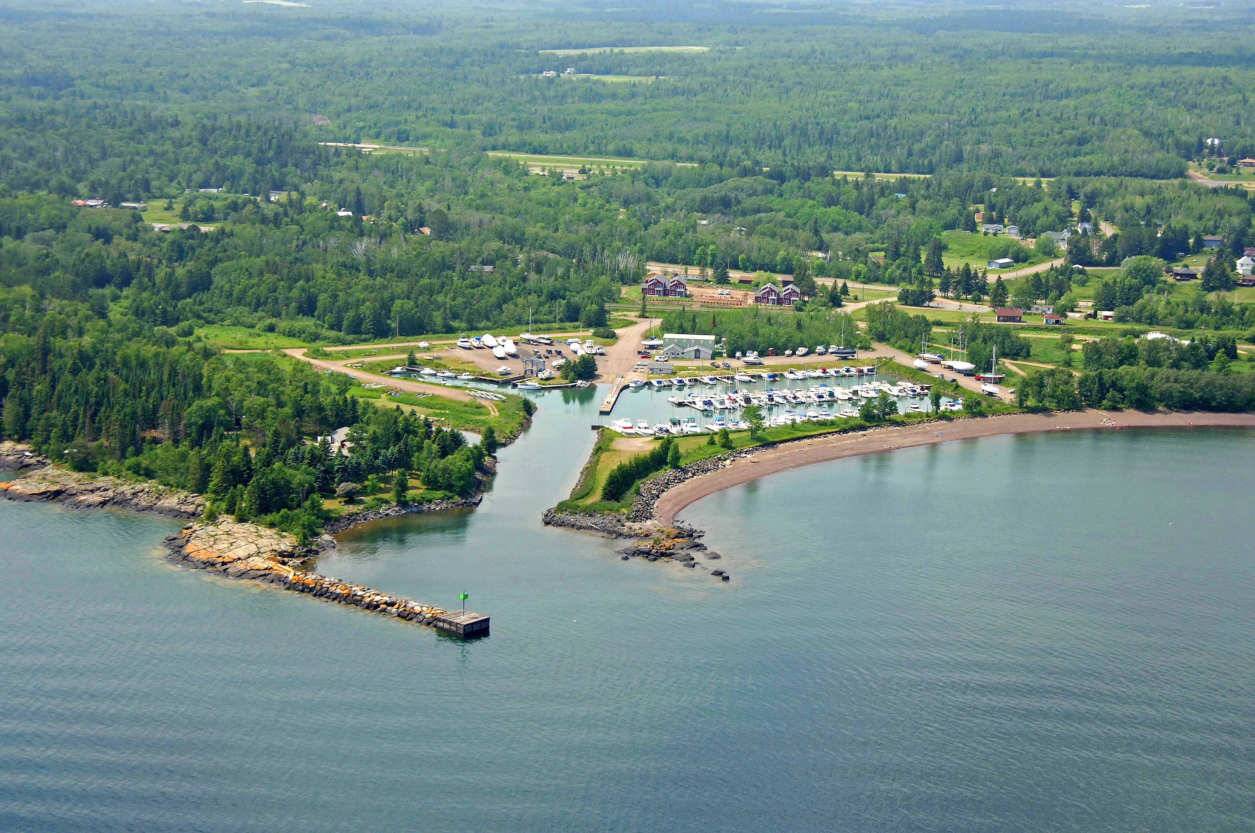 Knife River Marina In Knife River Mn United States