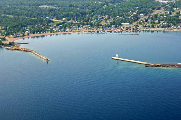 Grand Marais Harbor Inlet