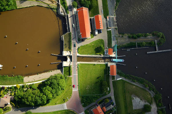Friese Sluis Lock