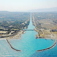 Korinthos Channel North Bridge