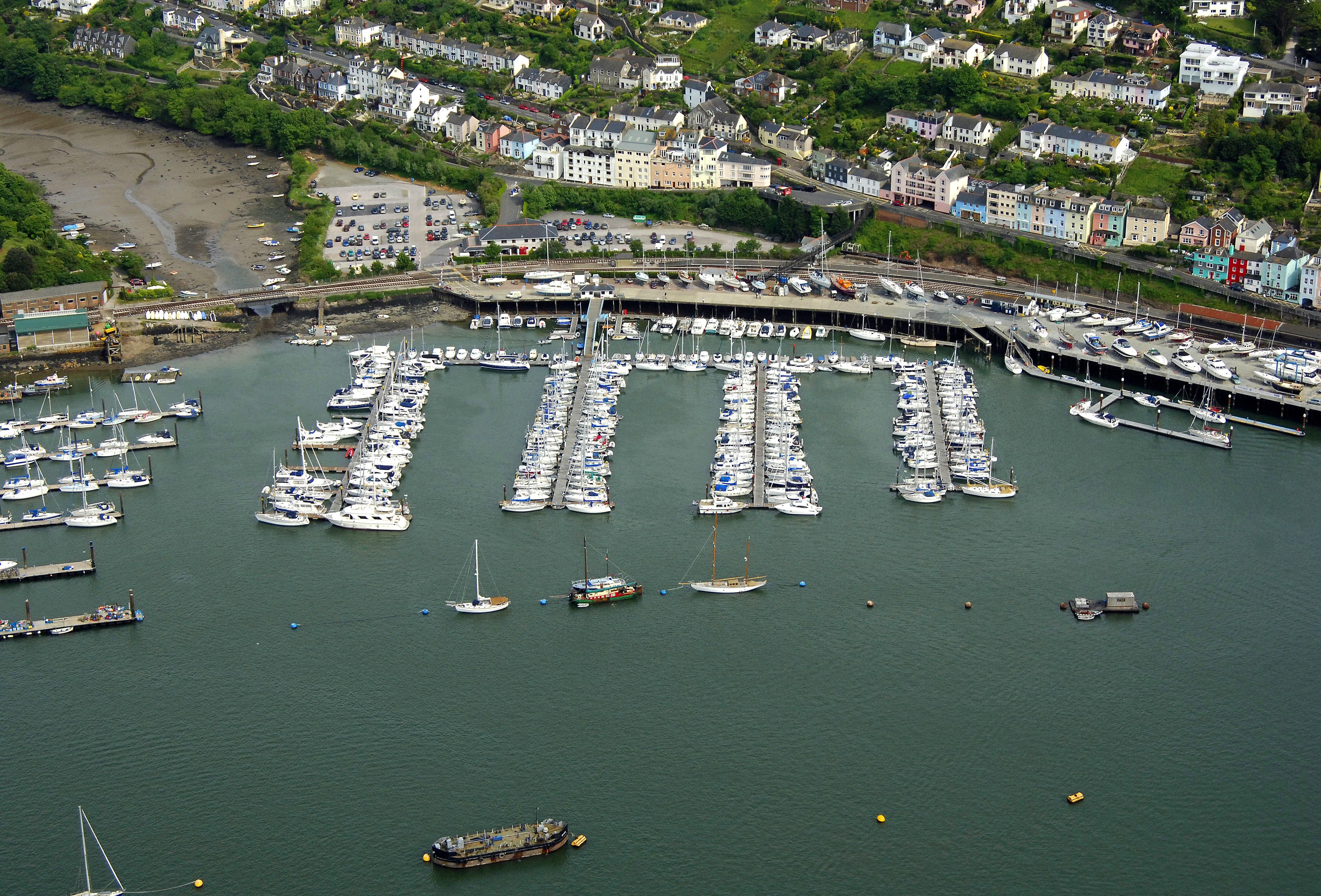 Darthaven Marina In Dartmouth Devon Gb United Kingdom
