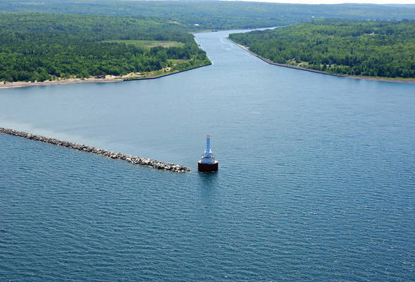 Keweenaw Waterway Upper Entrance Lighthouse