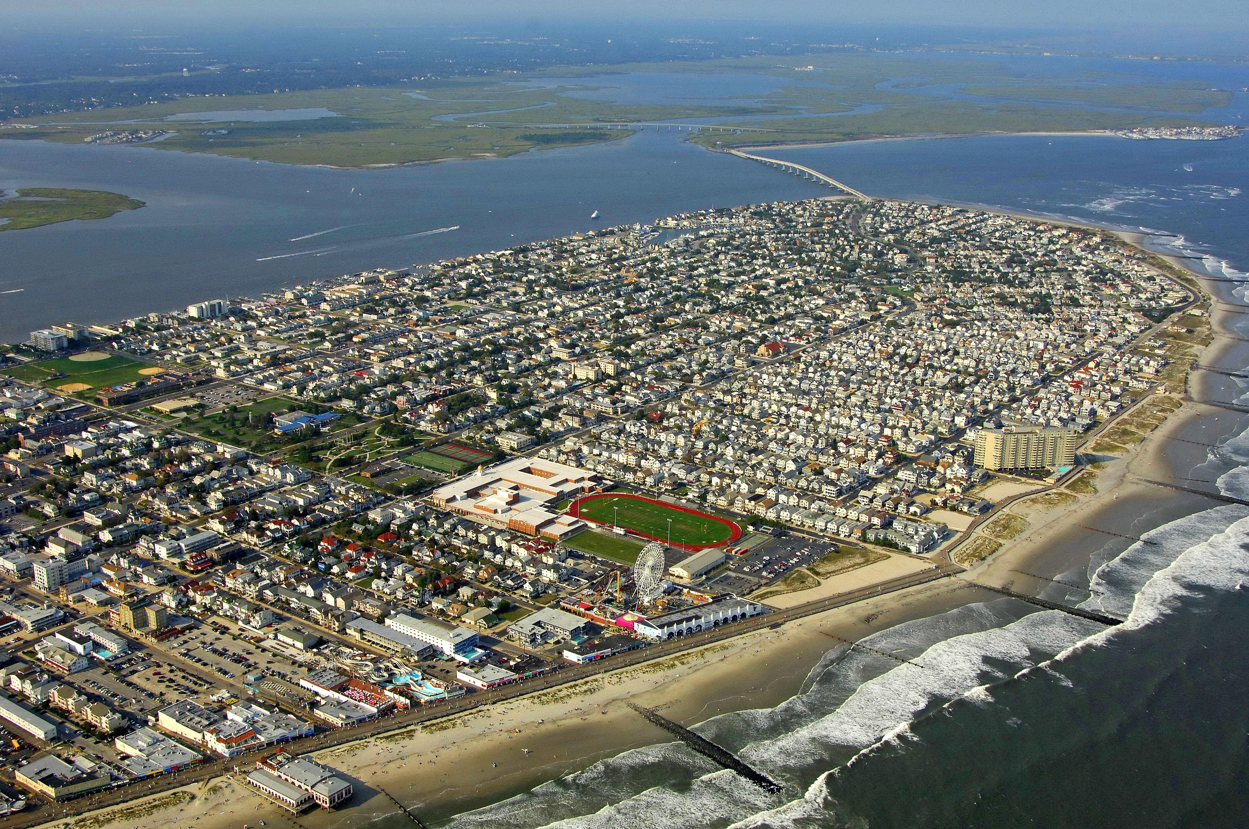 Ocean City N J Boardwalk Photograph by Allen Beatty