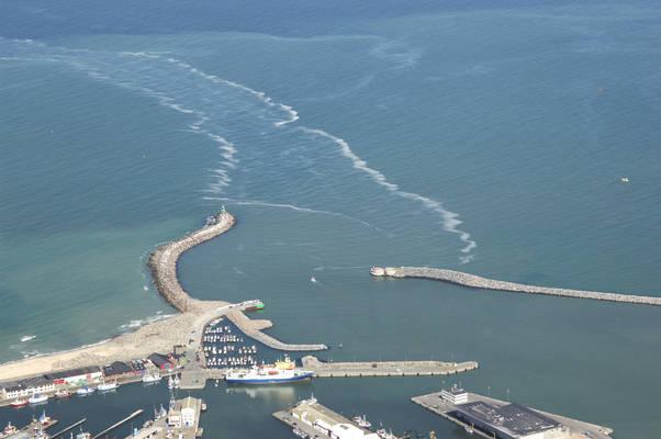 Hirtshals Havn Inlet