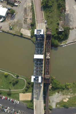Cleveland RailRoad Lift Bridge 4