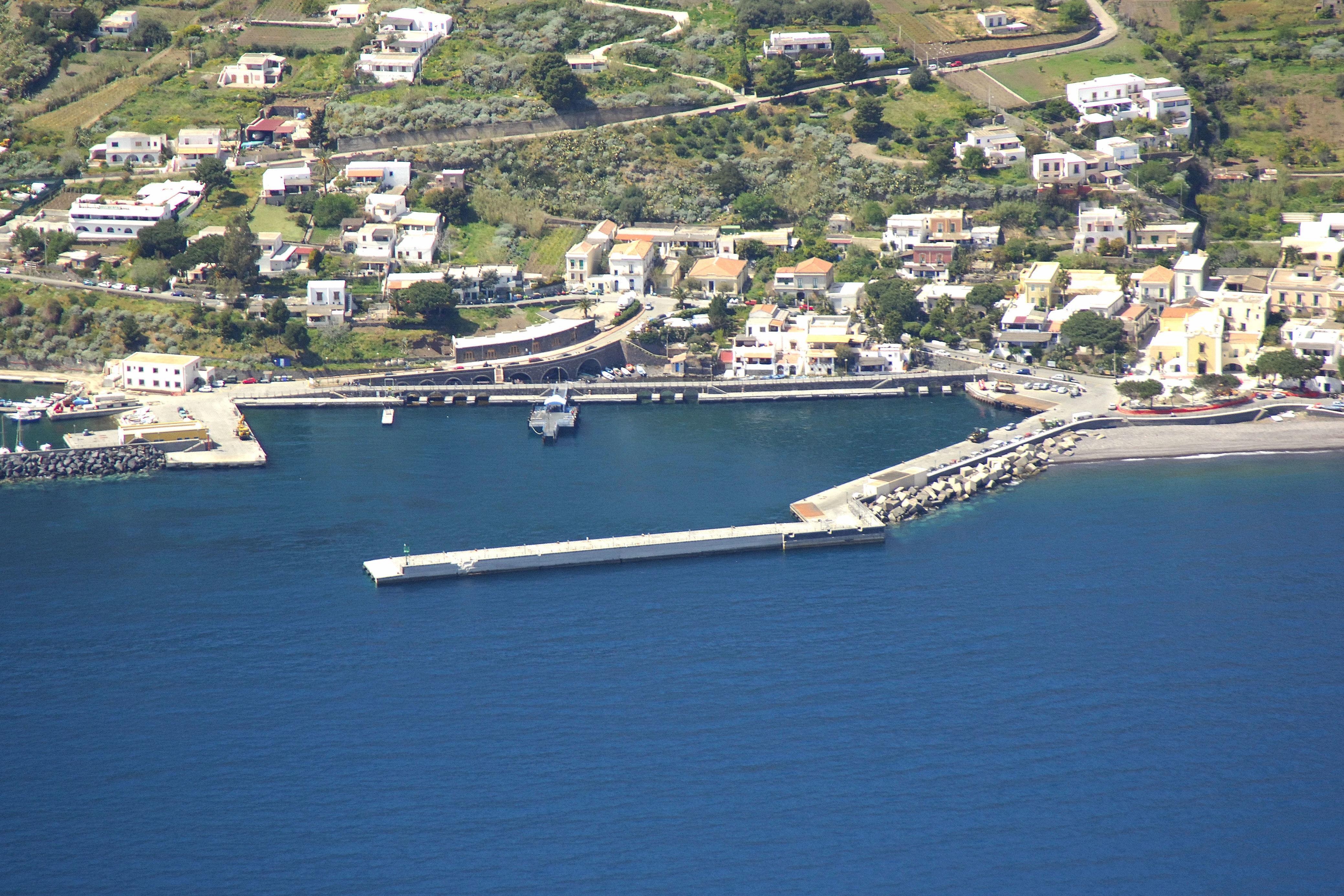 Santa Marina Salina in Santa Marina Salina, Sicily, Italy - Marina ...