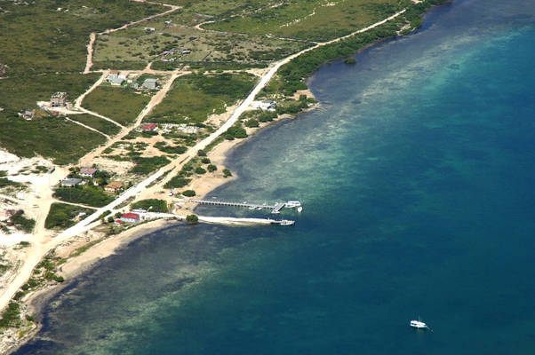 Grand Turk Fishing Boat Dock