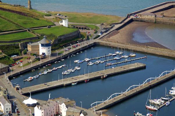 Whitehaven South Harbour Docks