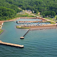 Iron County Forestry Department (Saxon Harbor Marina)