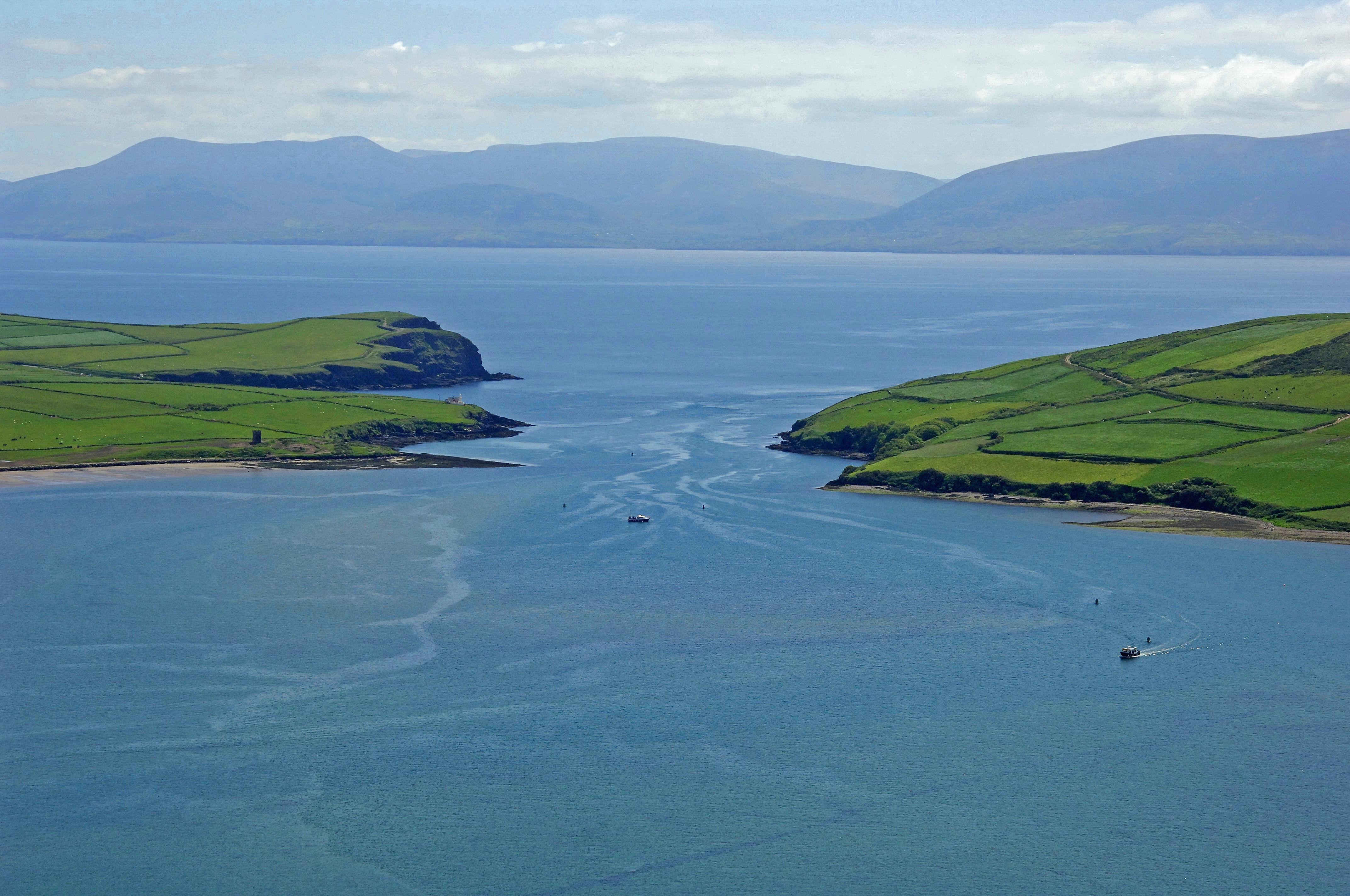 Dingle Bay Ireland Map on