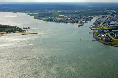 Sinepuxent Bay North Inlet