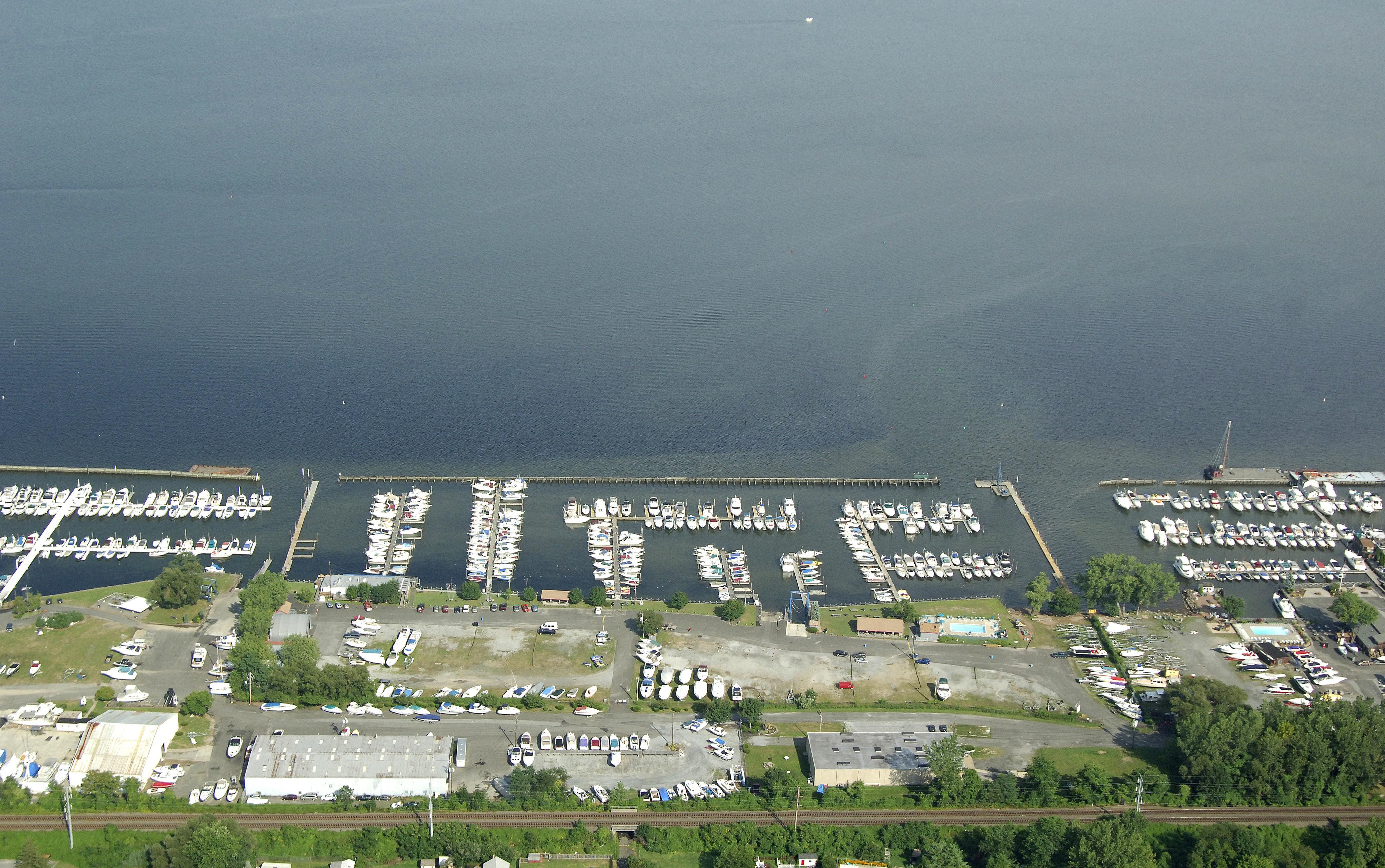 Stony Point Bay Marina In Stony Point  Ny  United States