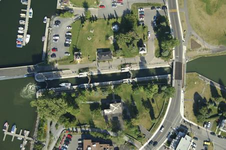 The Chambly Basin Canal Lock