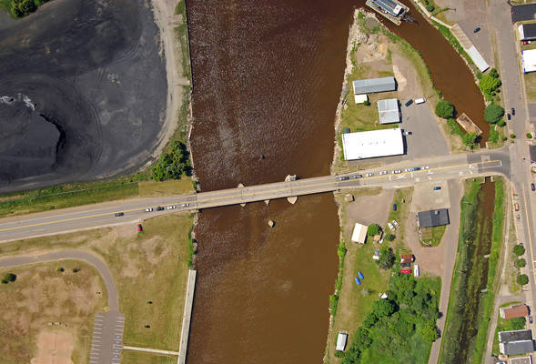 Ontonagon Street Swing Bridge