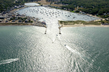 Oak Bluffs Harbor Inlet