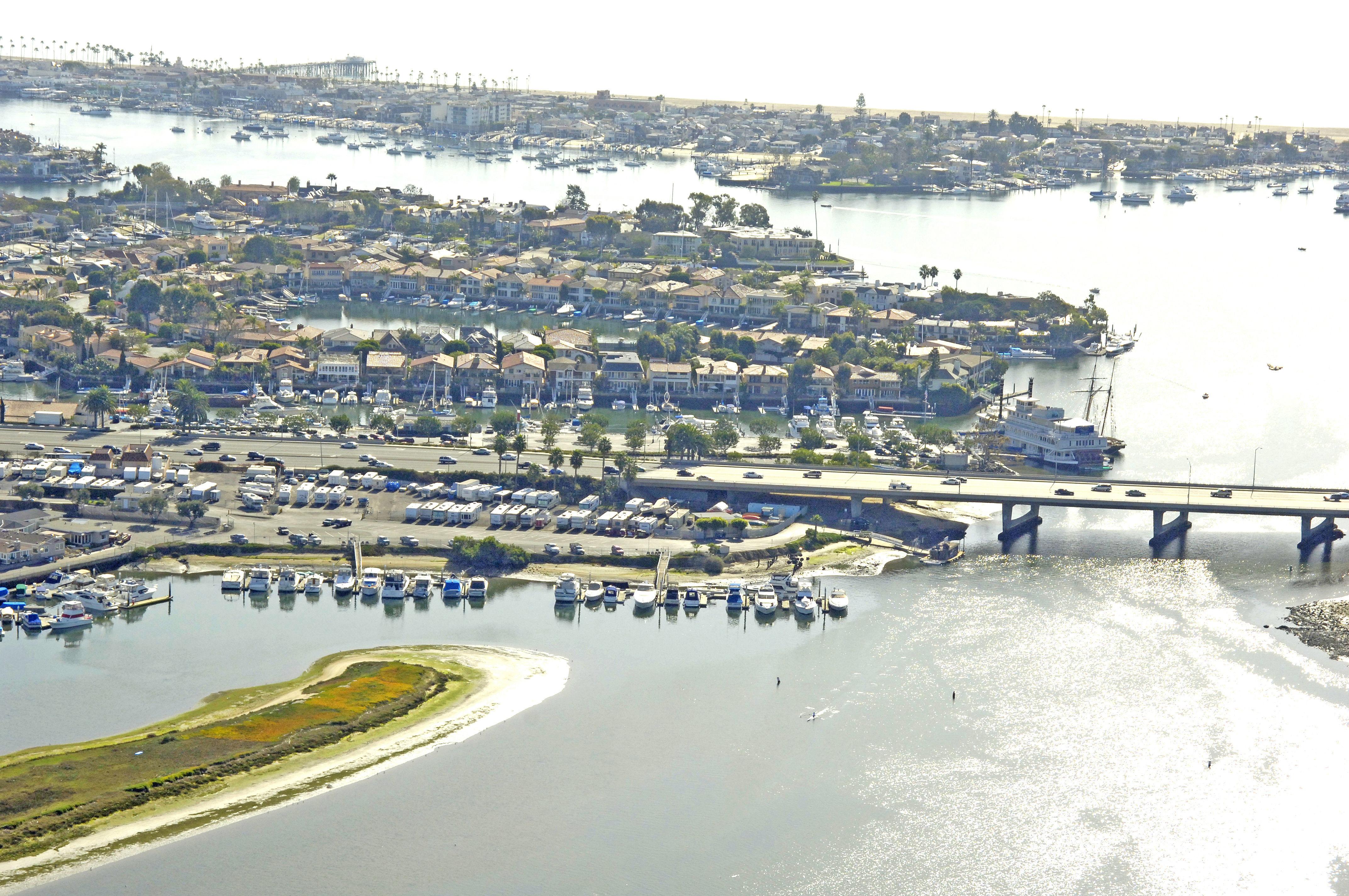 Balboa Marina In Newport Beach Ca