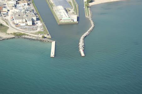 Port Hope Harbor Inlet