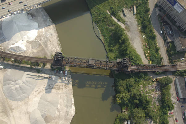 Cleveland Conrail RailRoad Lift Bridge 1