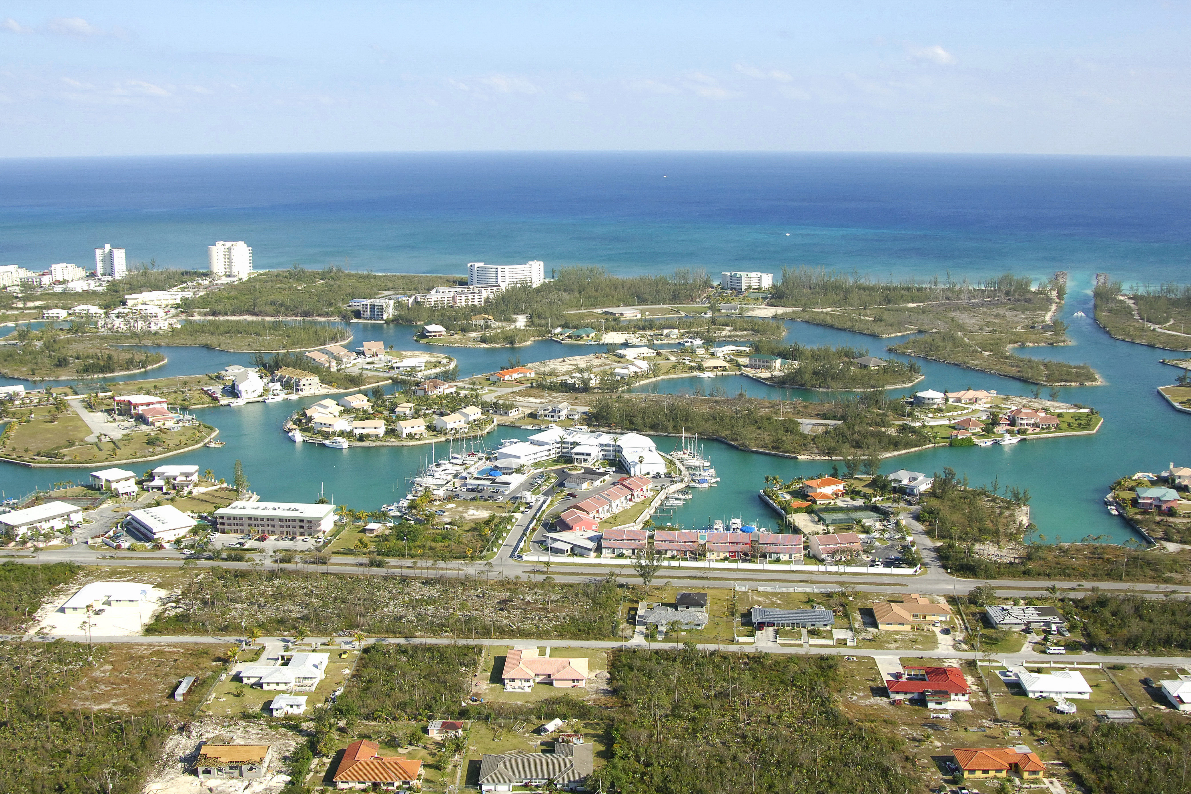 Ocean Reef Yacht Club  Resort in Freeport Lucaya Bahamas