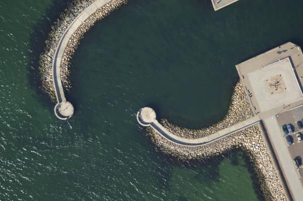 Helsingborg Norra Harbor Inlet