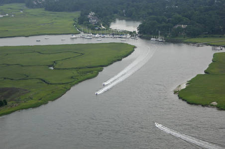 Hobcaw Creek Inlet