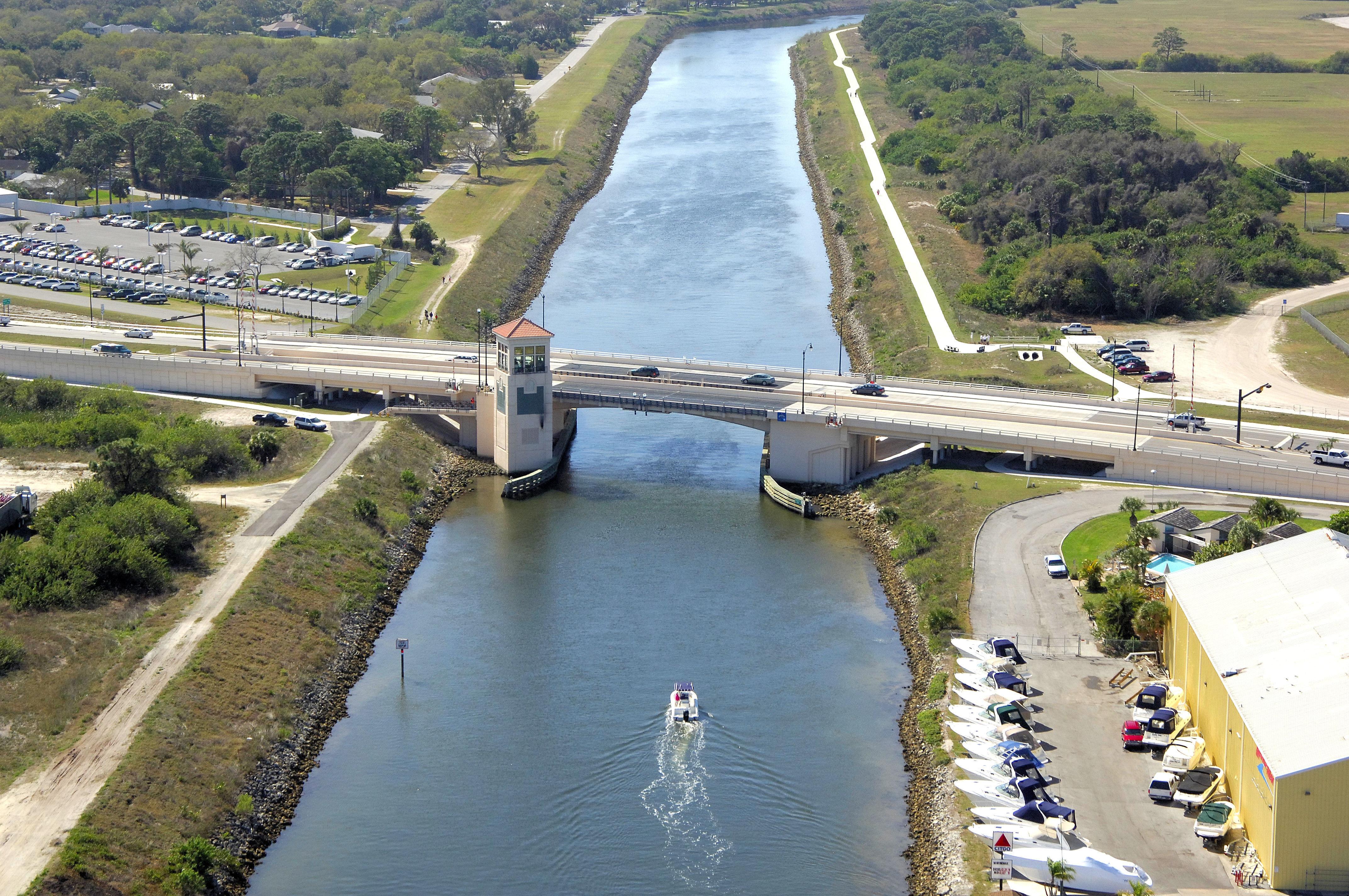 Circustamiami Trail Bascule Bridge In Venice Fl United States