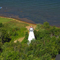 Great Bras D'Or Range Rear Lighthouse
