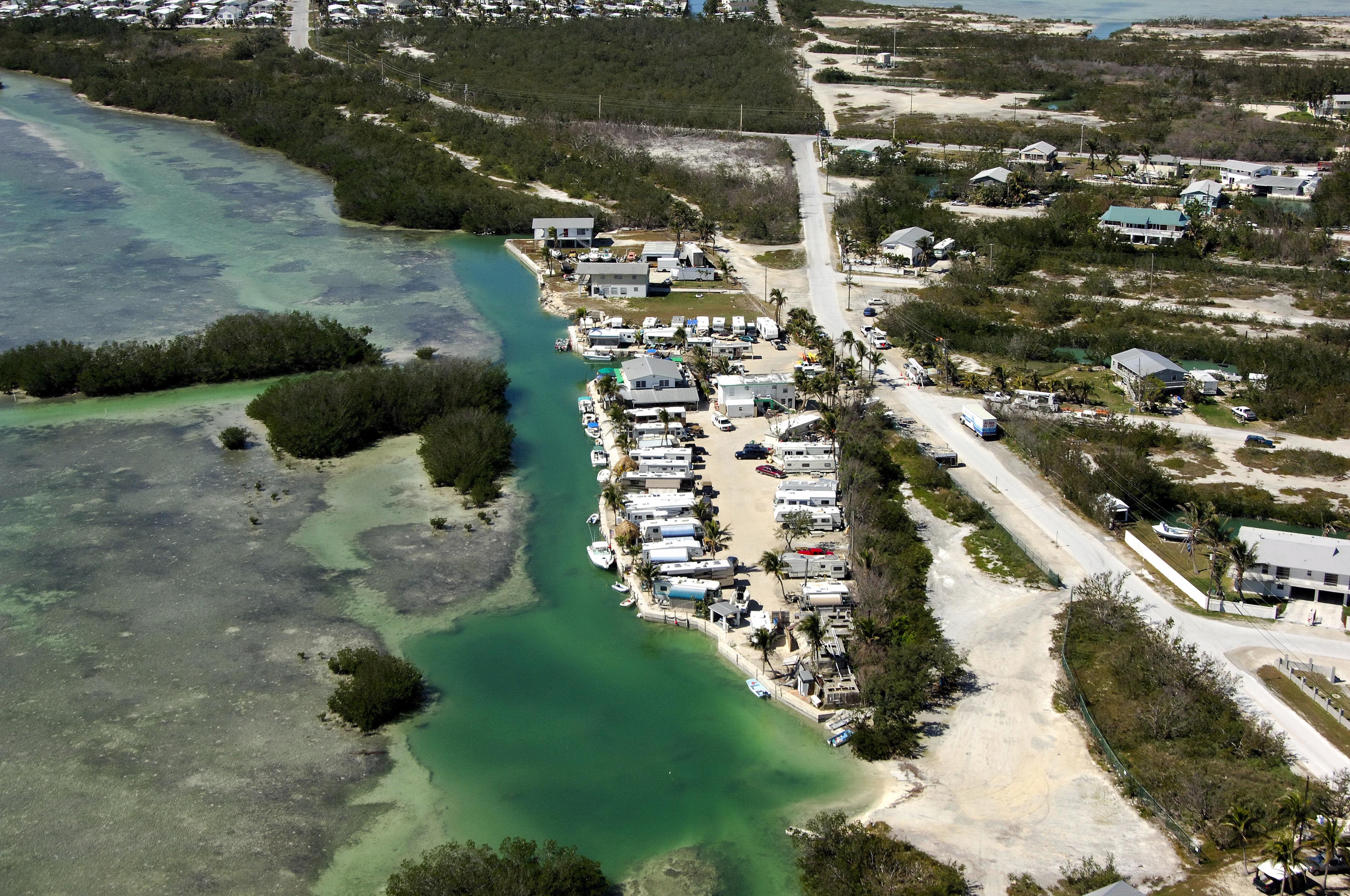 Geiger Key Marina Rv Park In Key West Fl United States