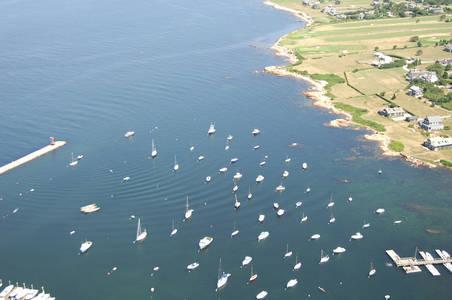 Sakonnet Harbor Inlet