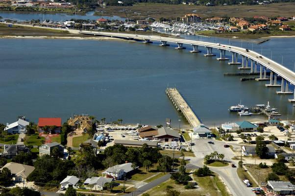 Vilano Beach Pier/ St Augustine Marina