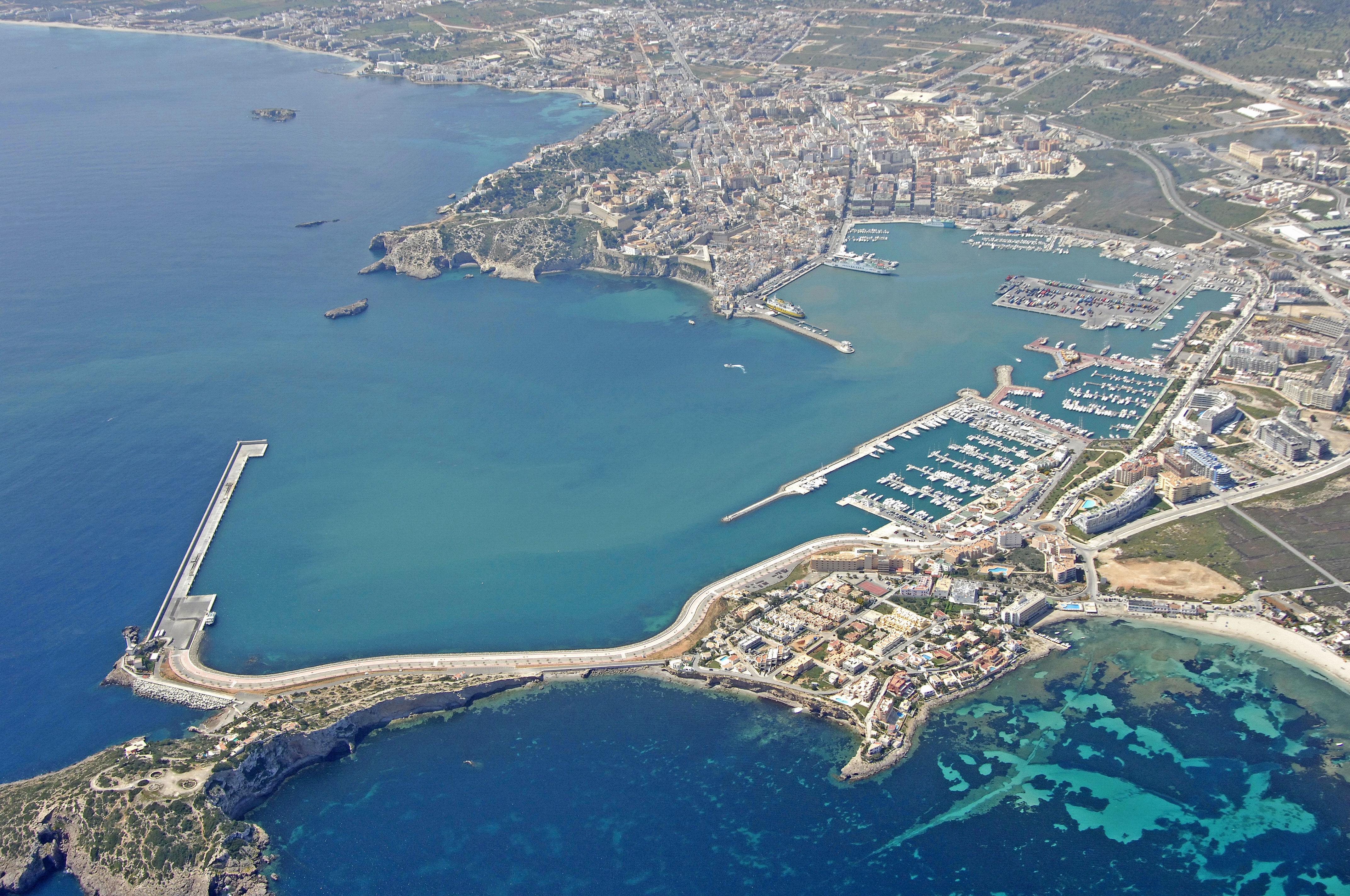 Eivissa Harbor In Eivissa Spain Harbor Reviews Phone