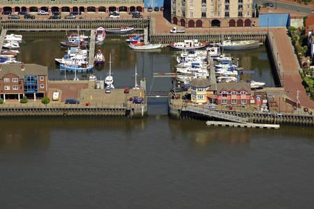 St Peters Marina Lift Bridge