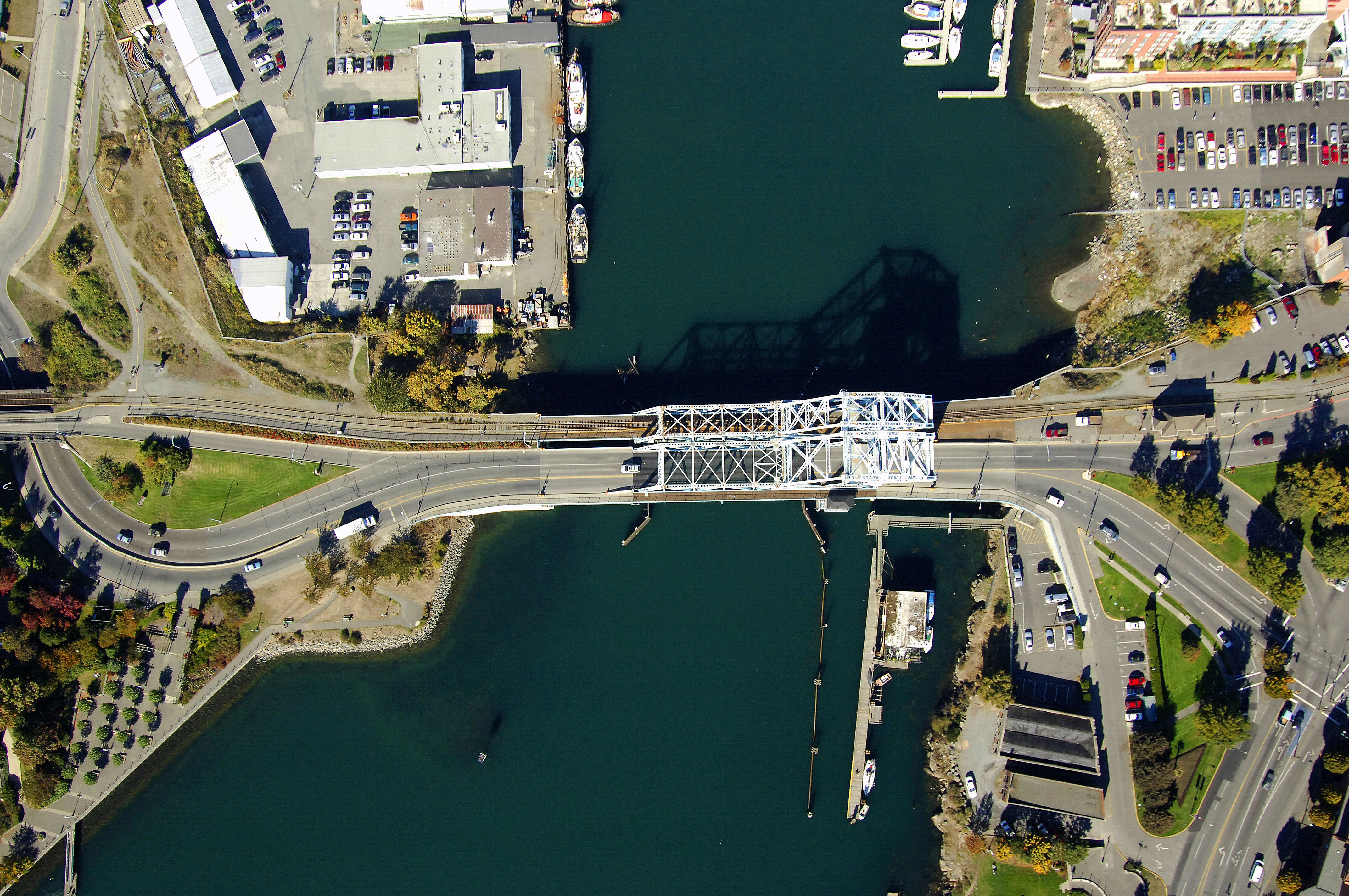 Johnson Street Bridge In Victoria Bc Canada Bridge