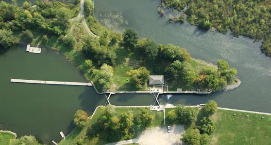 Cataraqui River Lock 43 &44