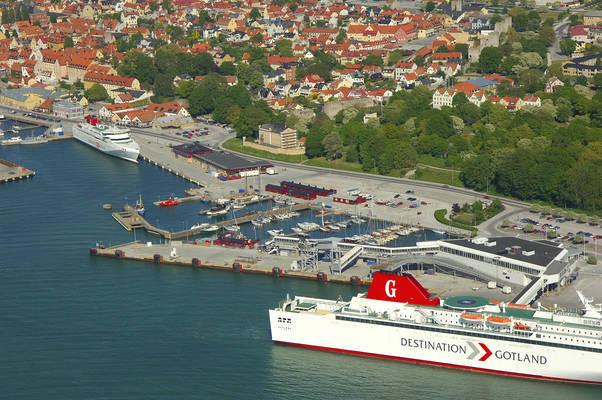 Visby Slottshamnen Road Marina