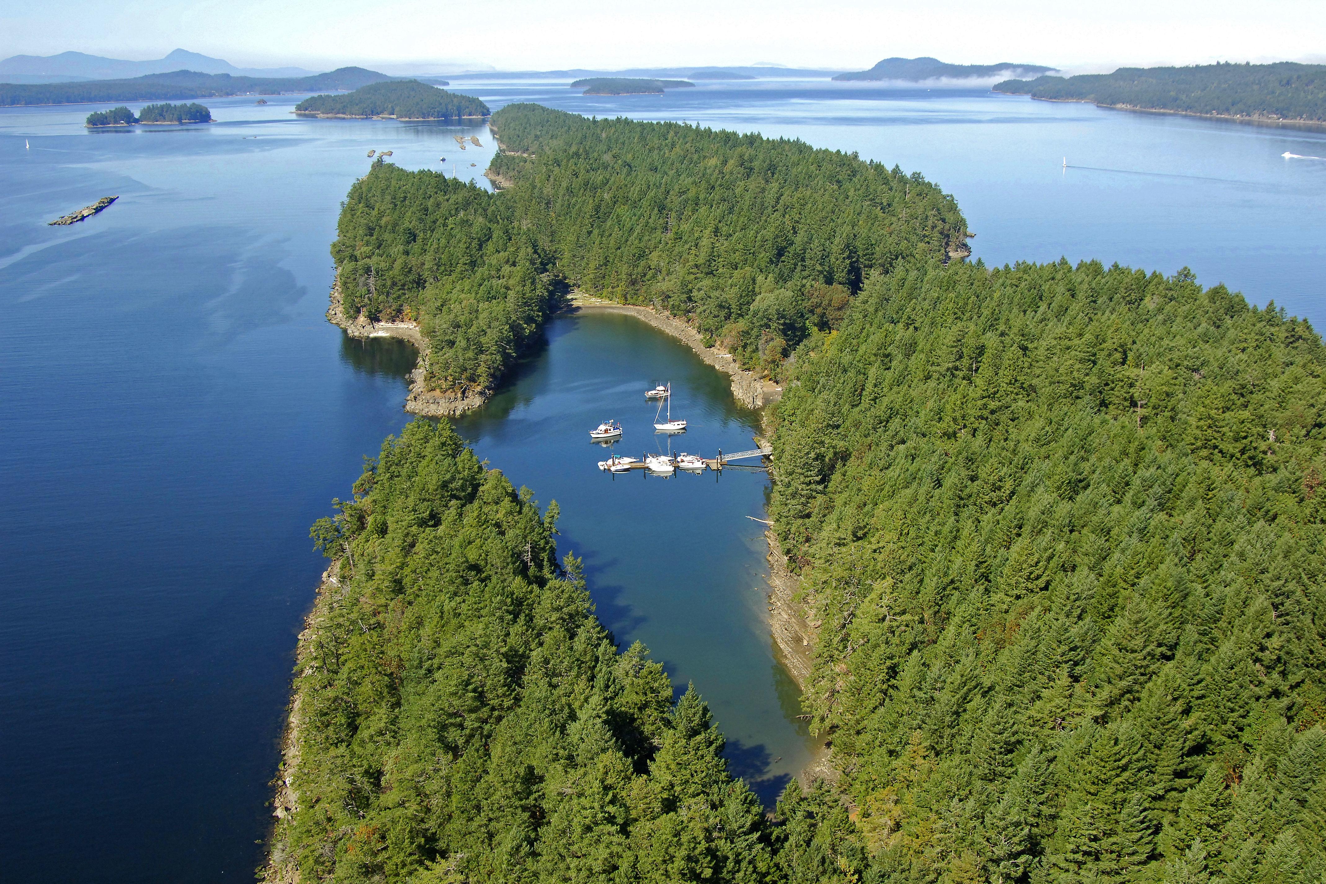 Wallace Island Marine Park In Bc Canada Marina Reviews