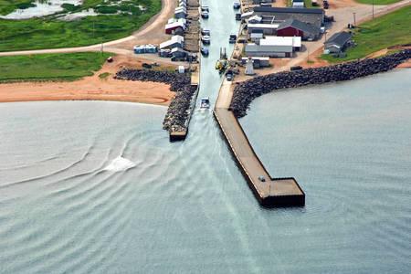 Tignish Harbour Inlet
