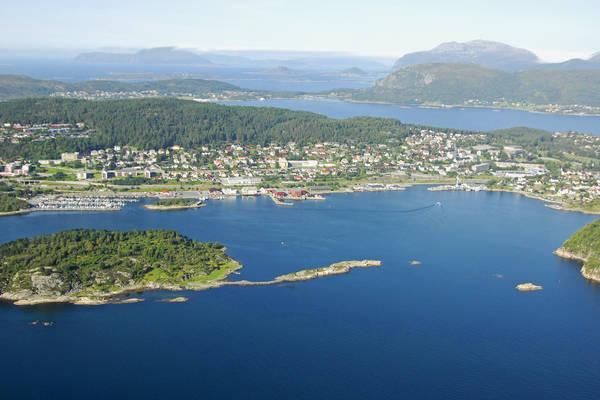 Alesund Norvevika Harbour