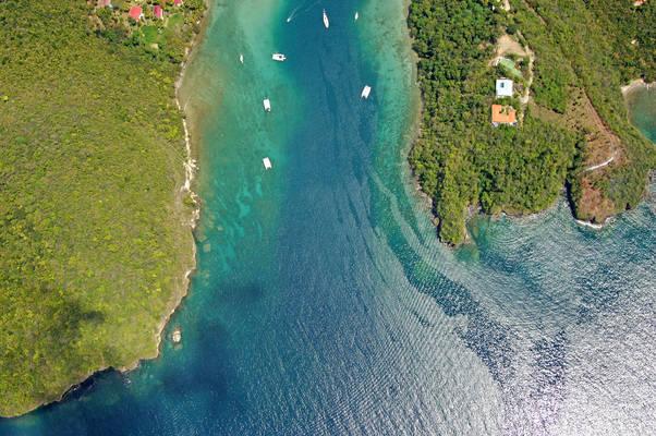 Marigot Bay Inlet