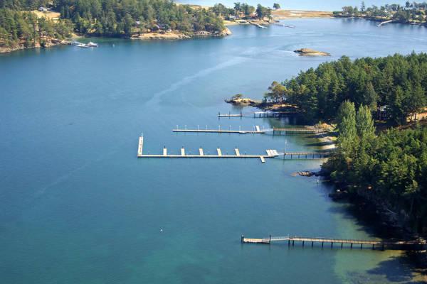 Seattle Yacht Club on Henry Island