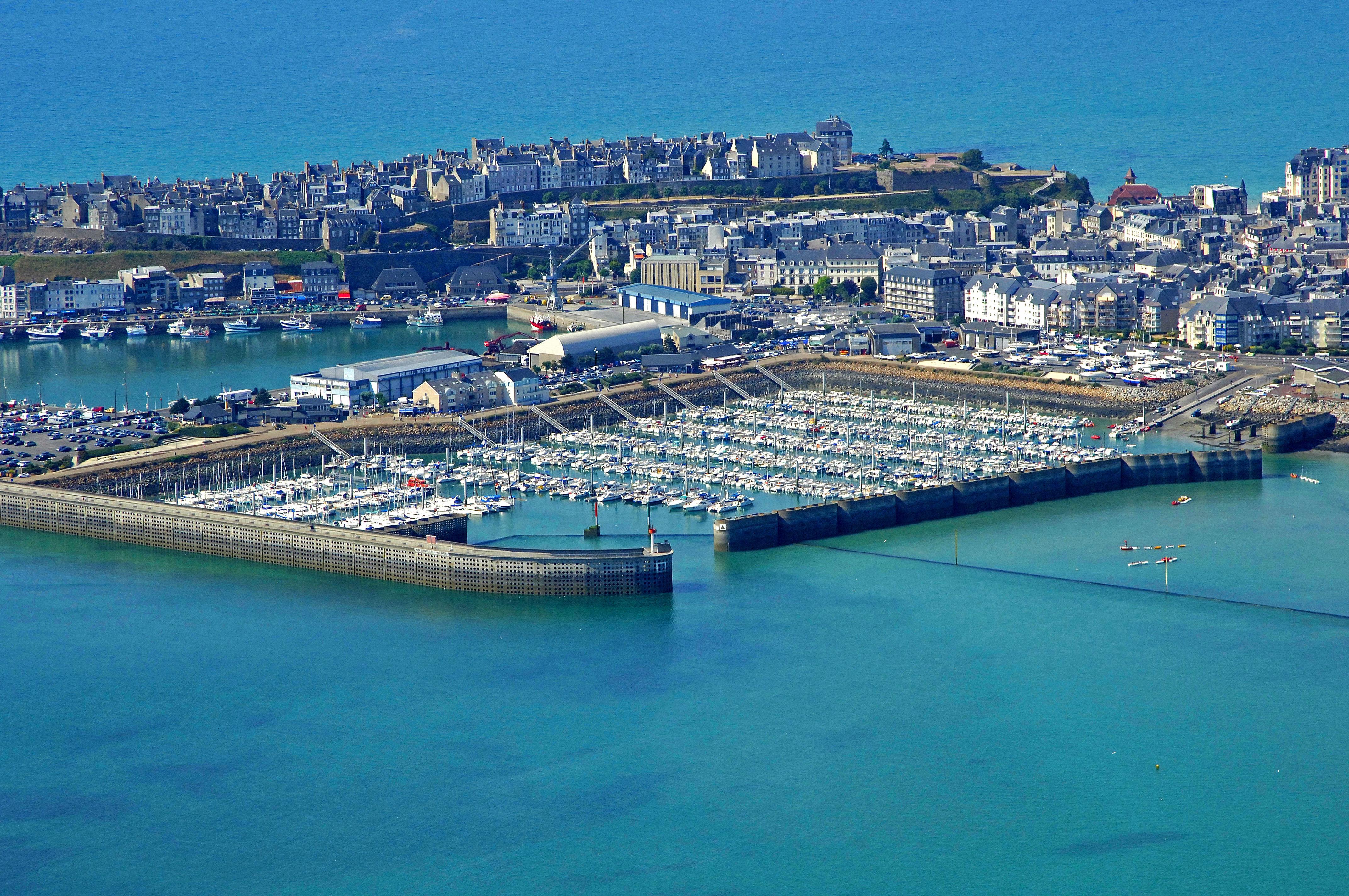 Granville Marina in Granville, Low Normandy, France - Marina Reviews