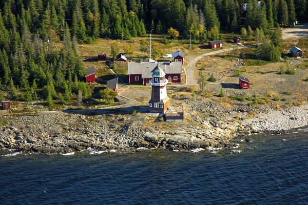 Bergudden Lighthouse