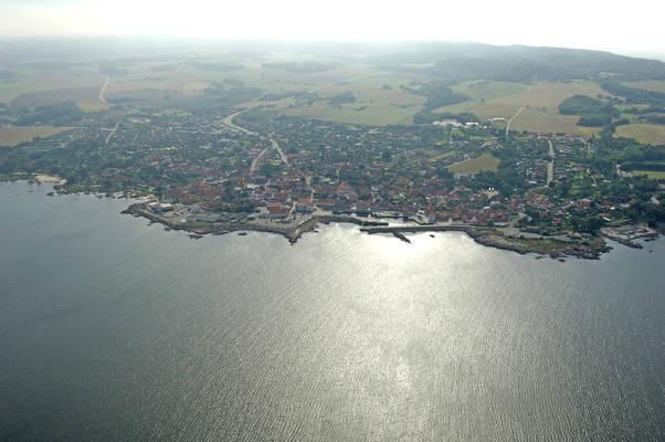 Allinge Haven Harbor
